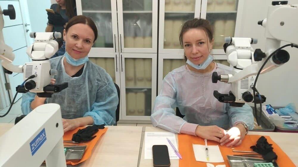 Стоматология Артес - курсы квалификации - микроскоп2