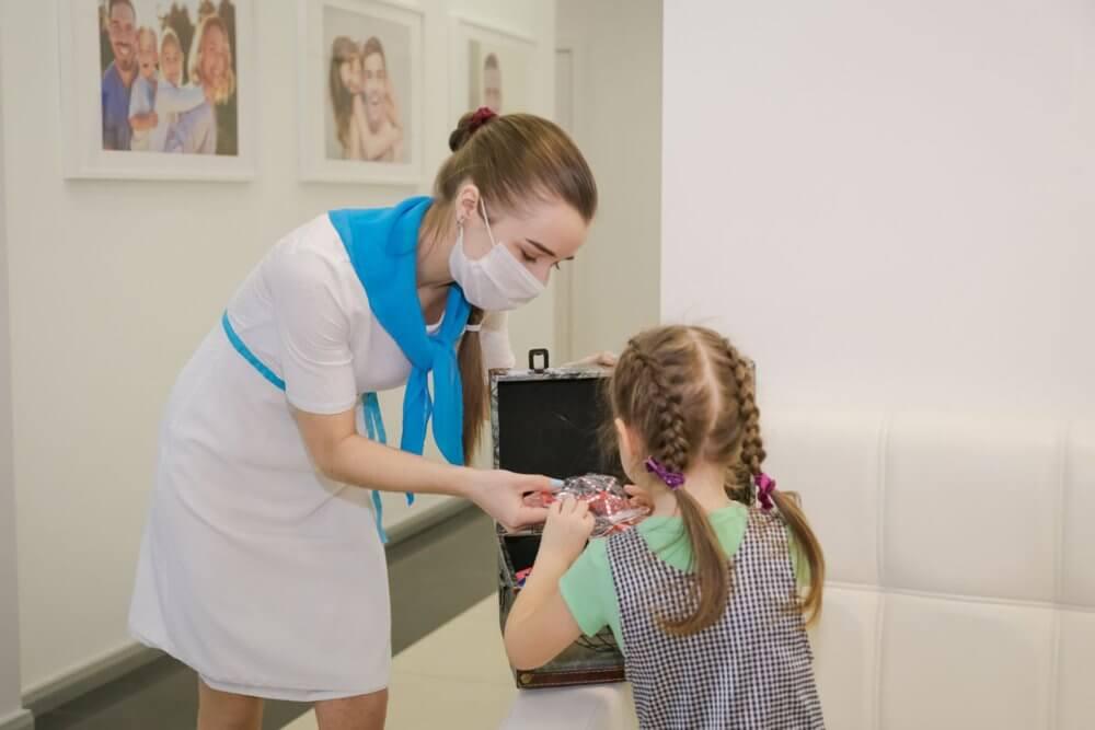 Детская стоматология - доброжелательная атмосфера